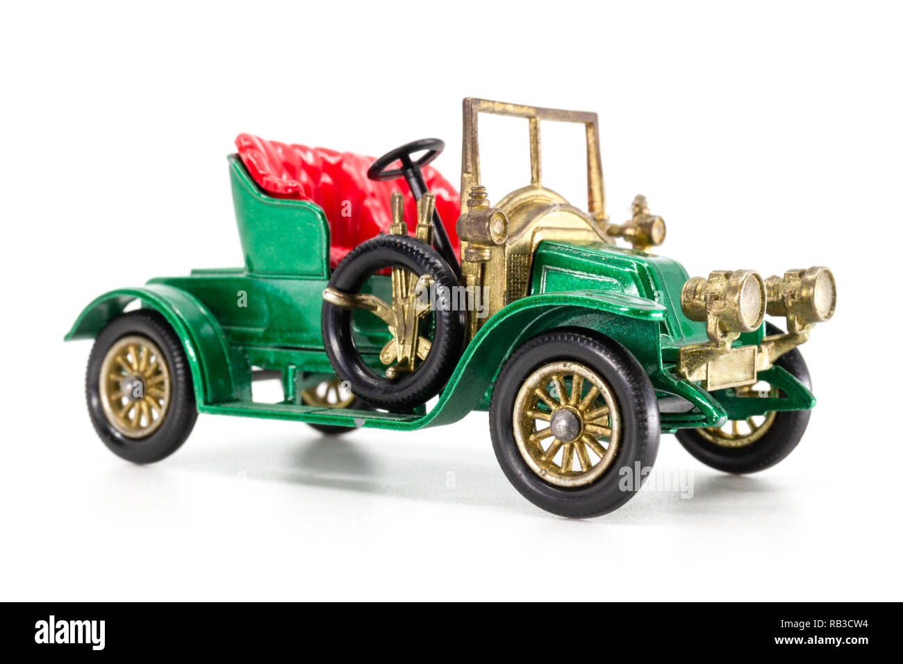Matchbox Models of Yesteryear Y-2 Renault Two-Seater 1911 Stock Photo