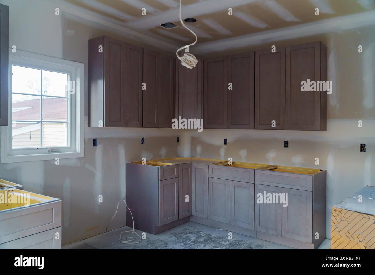 Kitchen Cabinets Installation Blind Corner Cabinet Island