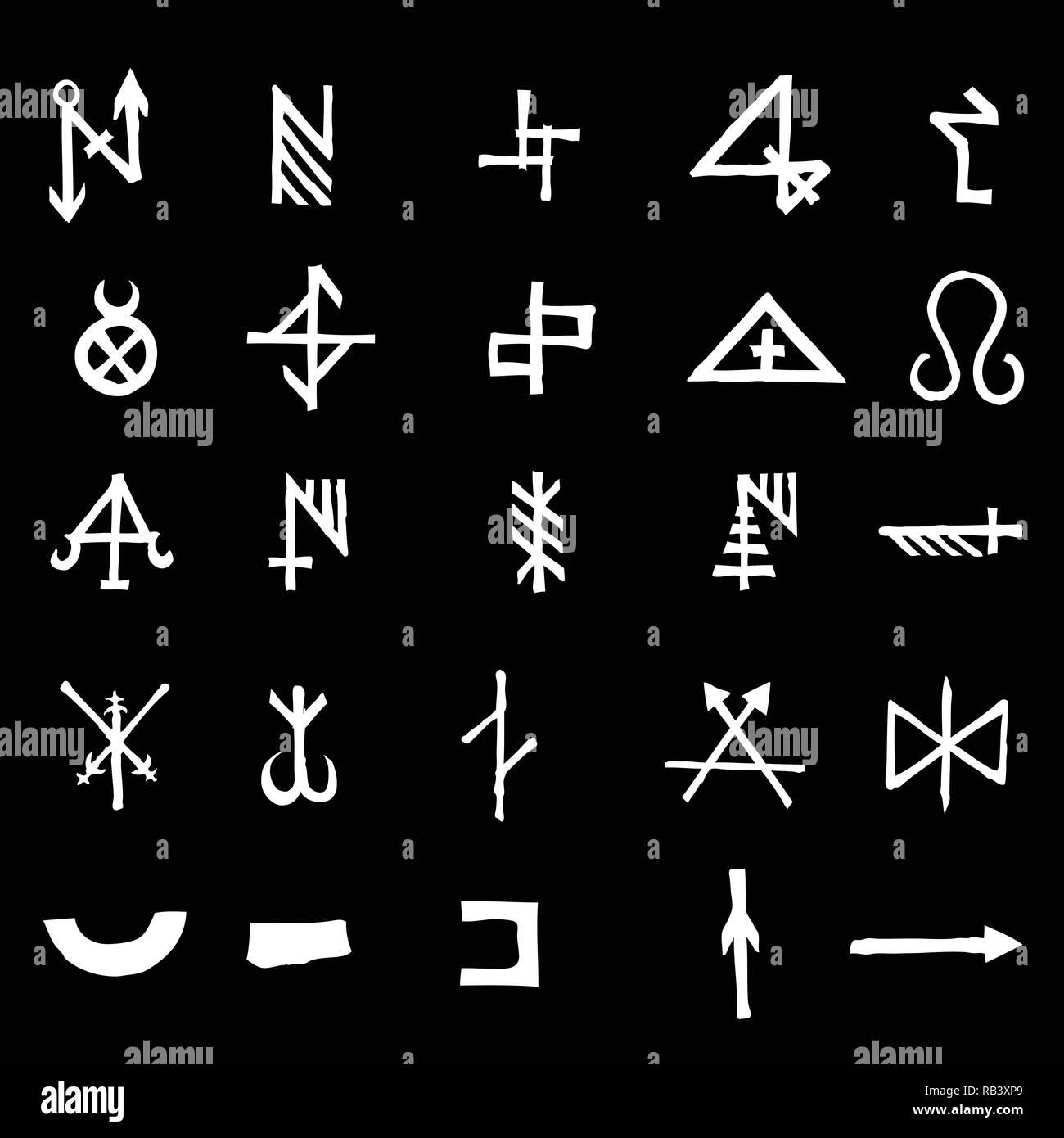 Occult Symbol Stock Photos & Occult Symbol Stock Images - Alamy