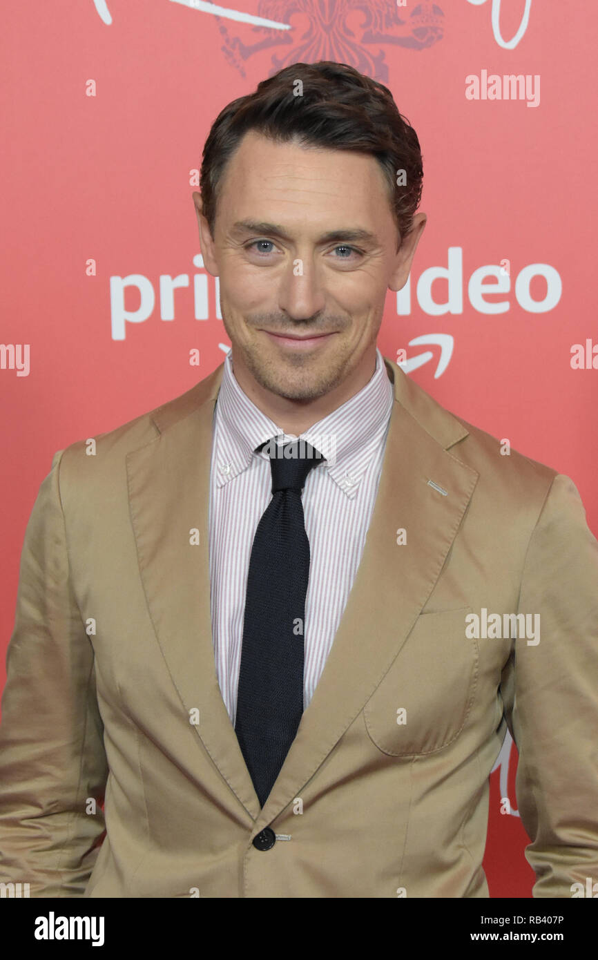 NEW YORK - OCT 11: Actor JJ Feild attends the premiere of Amazon Prime Video