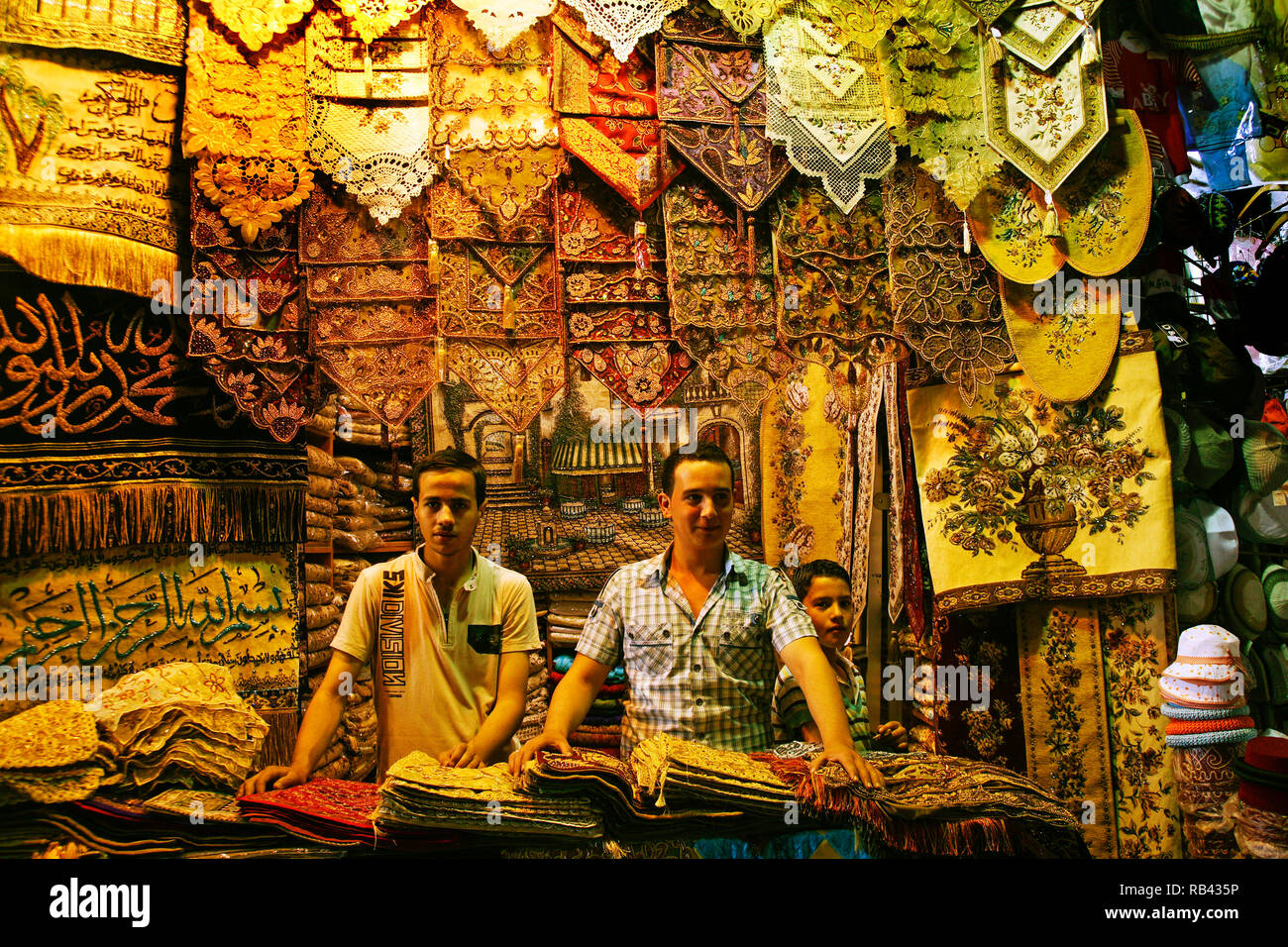 Souk Hamidiyé, Damascus. Syria, Middle East - Stock Image