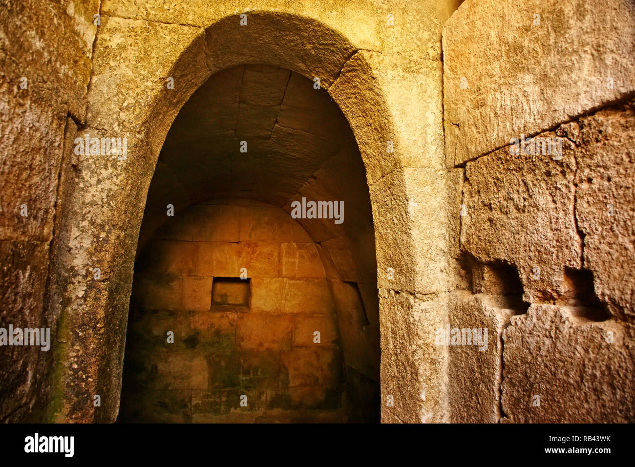Qal'at Salah El-Din. Fortress of Saladin Castle. UNESCO World Heritage. Latakia Syria, Middle East - Stock Image