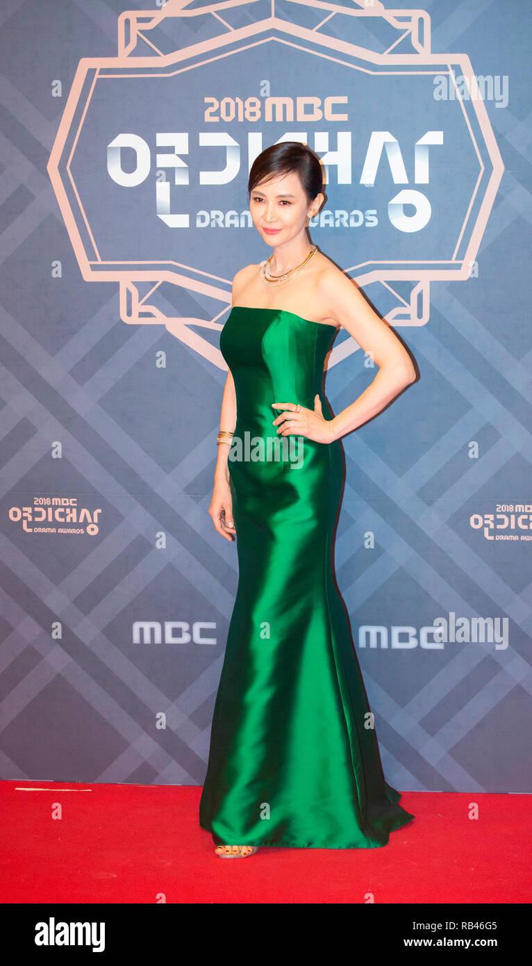 Chae Shi-Ra, Dec 30, 2018 : South Korean actress Chae Shi-Ra