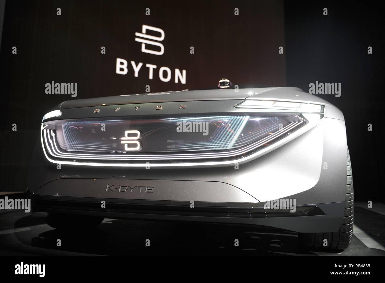 Las Vegas, USA  06th Jan, 2019  The concept car K-Byte of