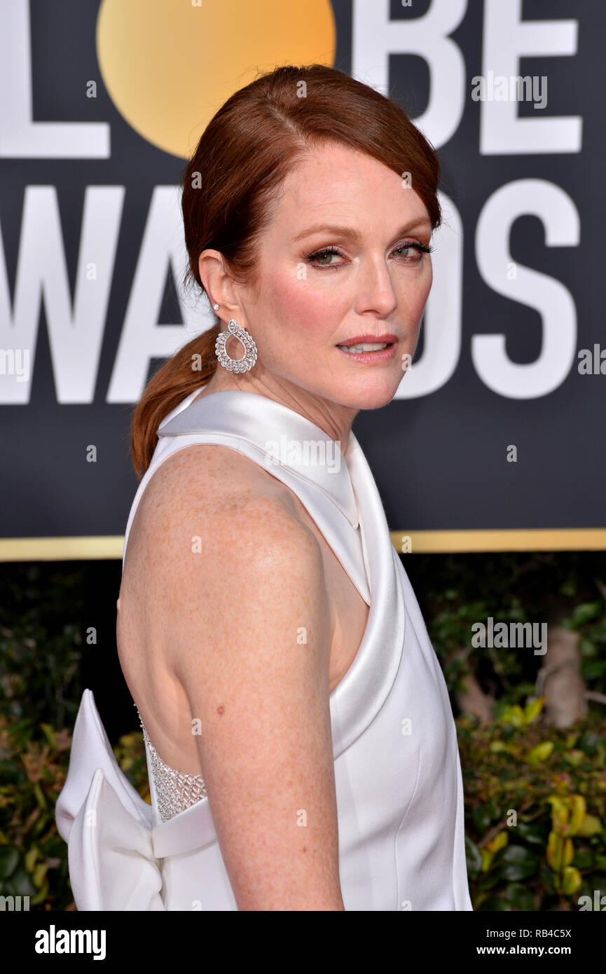 Los Angeles Ca January 06 2019 Julianne Moore At The
