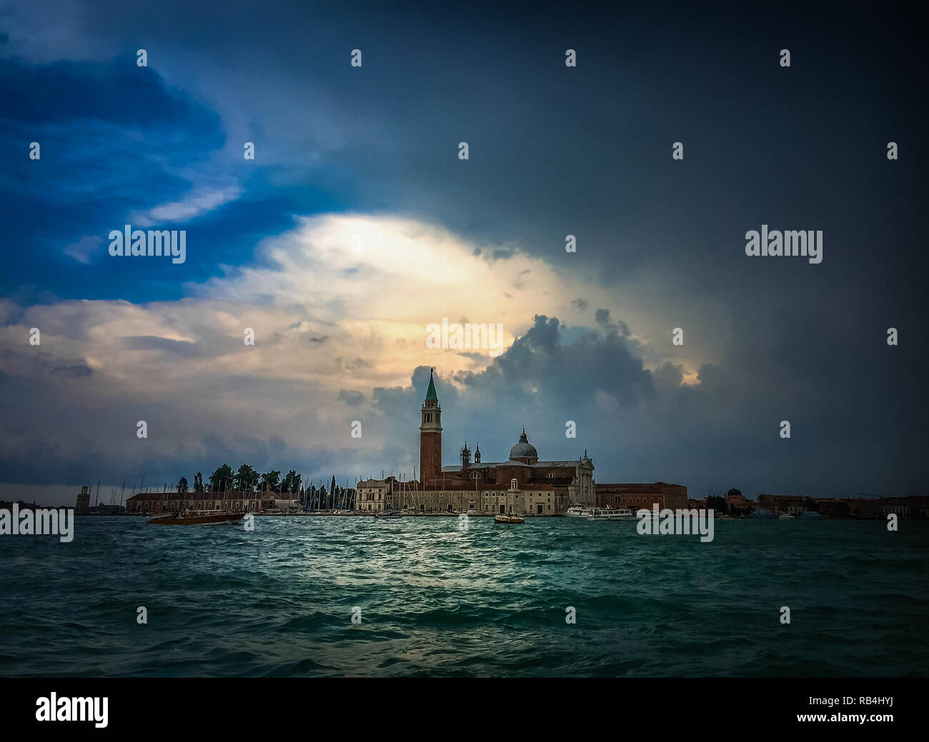 Venedig San Giorgio Maggiore - Stock Image
