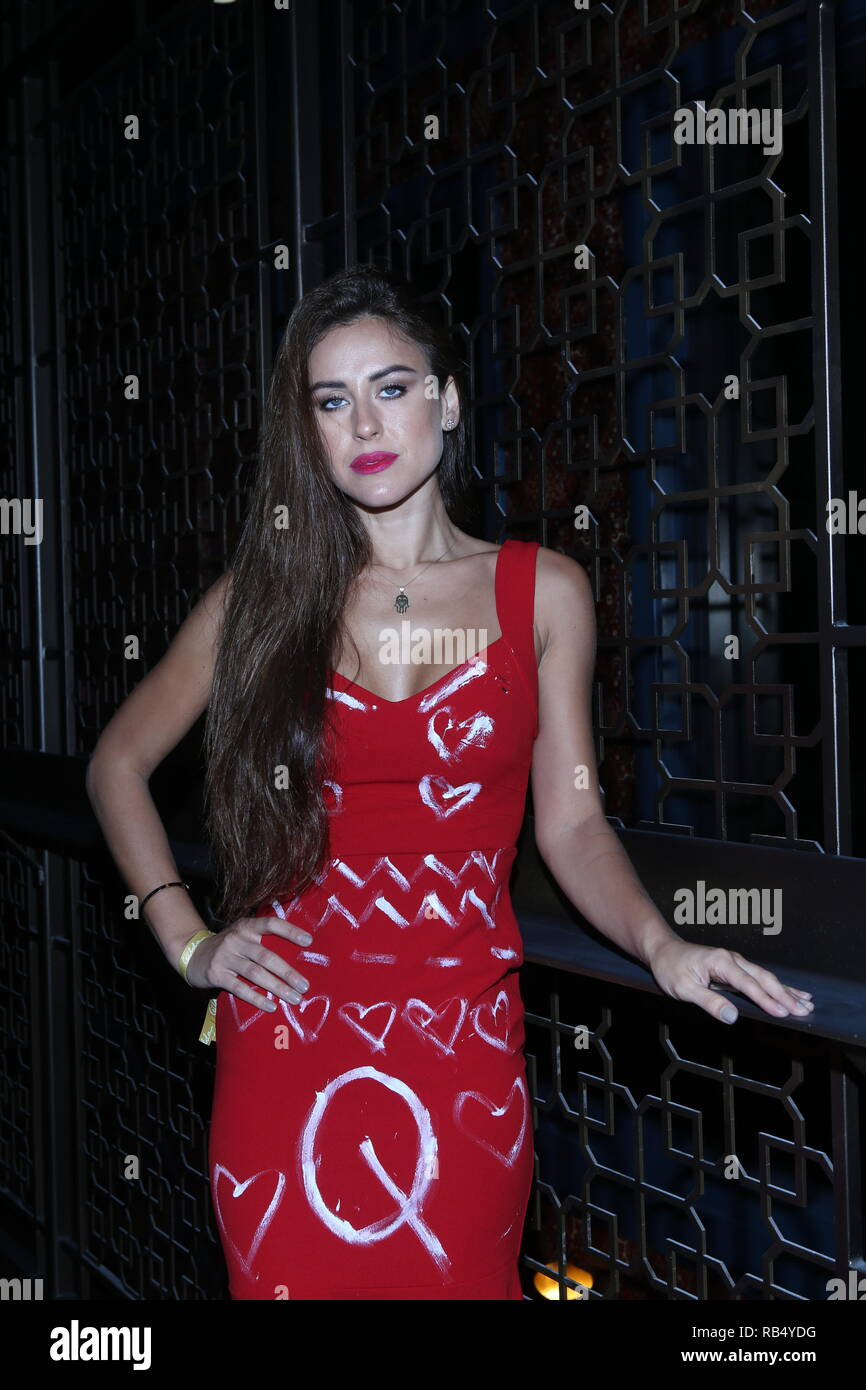 Kings & Queens By Gilda Garza Miami Art Basel 2018  Held at Bevy Bar at Swan  Featuring: Eliana Where: Miami, Florida, United States When: 06 Dec 2018 Credit: Derrick Salters/WENN.com Stock Photo
