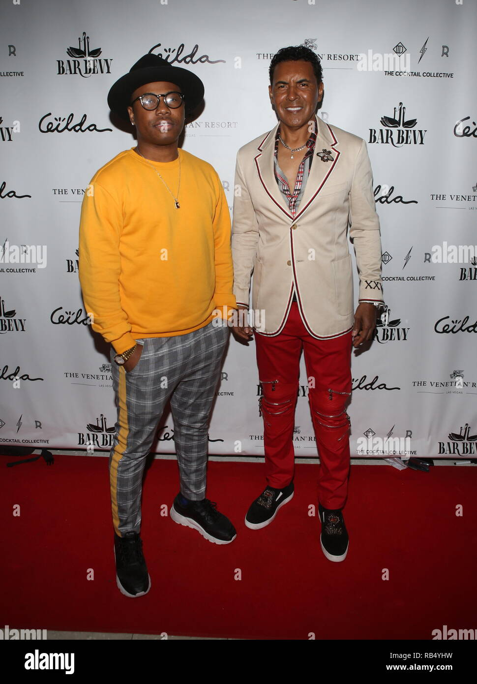 Kings & Queens By Gilda Garza Miami Art Basel 2018  Held at Bevy Bar at Swan  Featuring: Samuel Bright, Phillip West Where: Miami, Florida, United States When: 06 Dec 2018 Credit: Derrick Salters/WENN.com Stock Photo