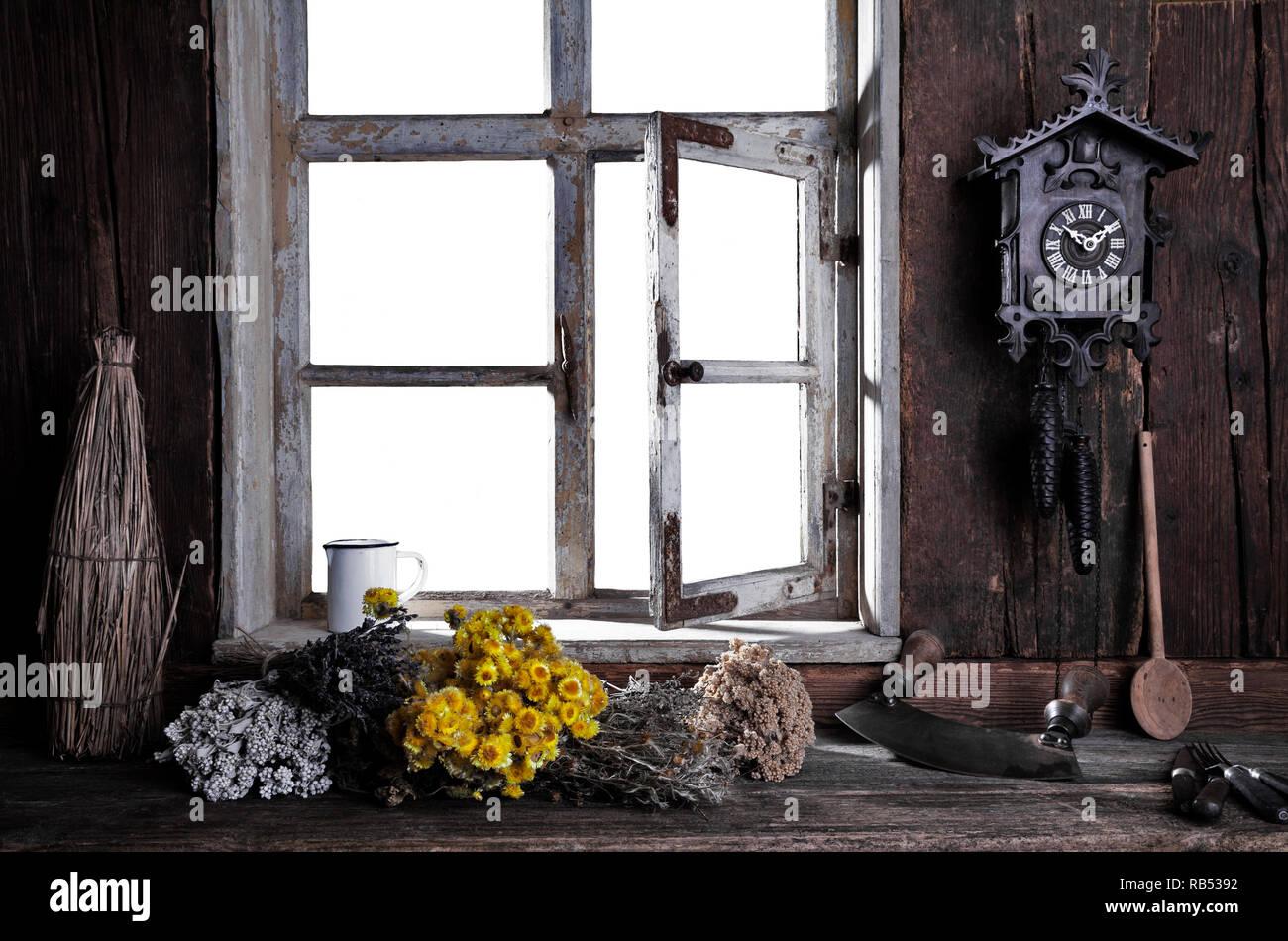 Landhaus Fenster Stock Photos Landhaus Fenster Stock Images Alamy