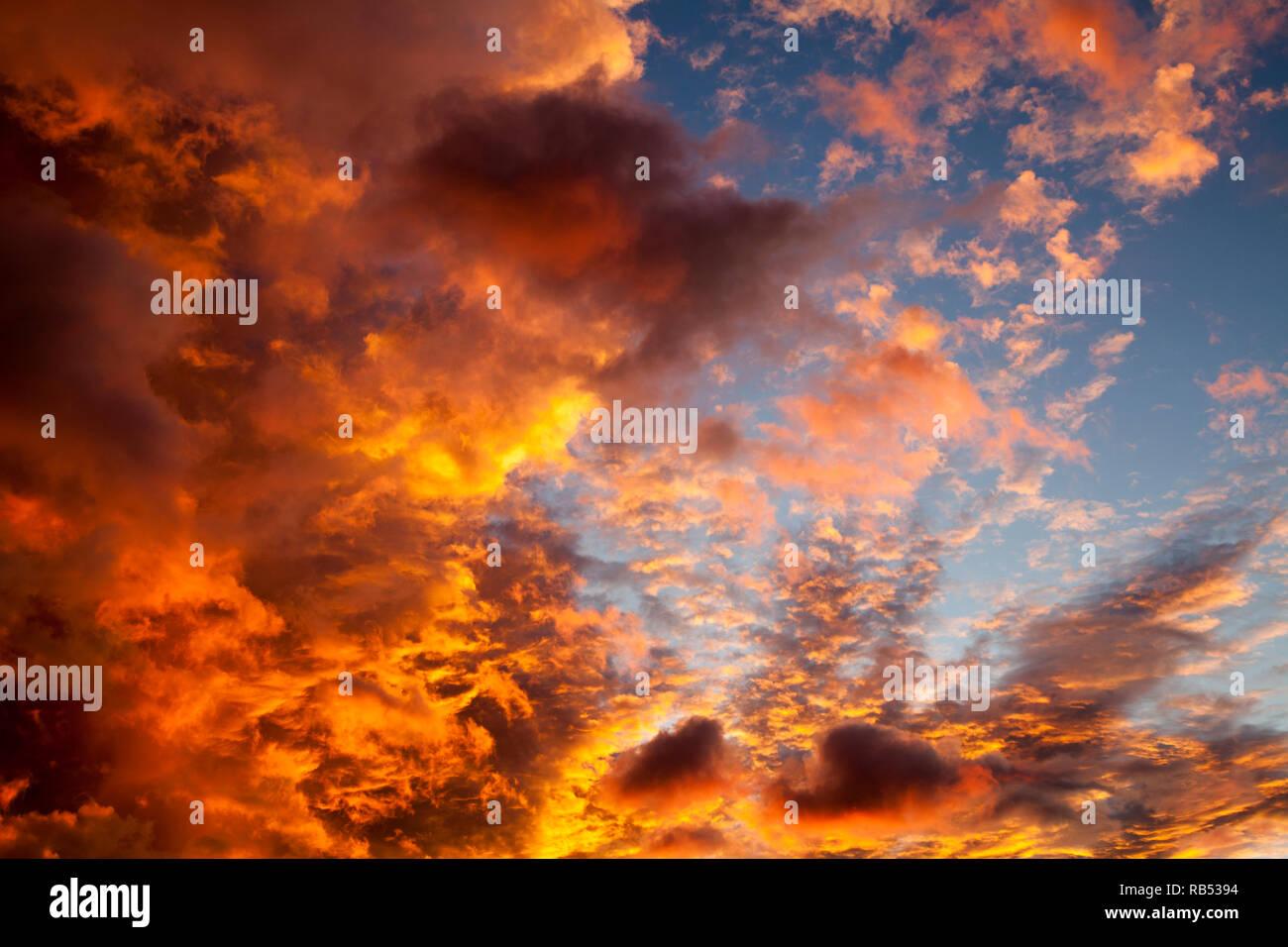Sonnenaufgang - Stock Image