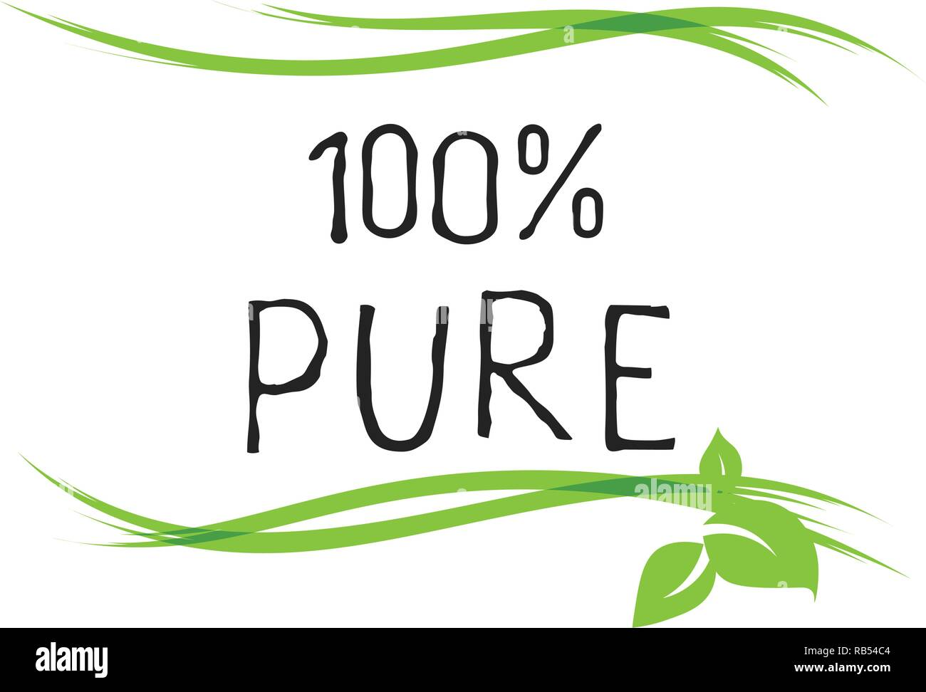 100 pure label and high quality product badges bio healthy eco food organic bio and natural product icon emblems for cafe packaging etc vector