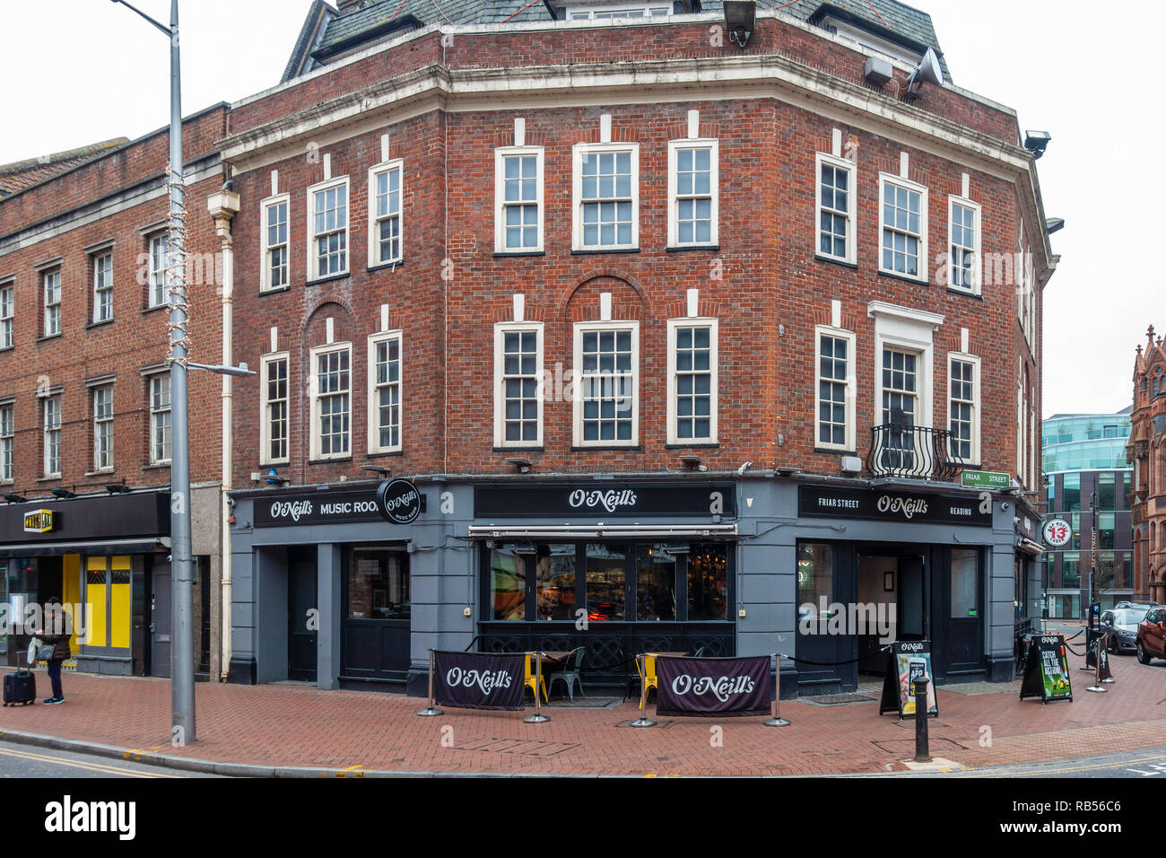Corner Of Berkshire.The O Neill S Pub On The Corner Of Friar Street And Blagrave