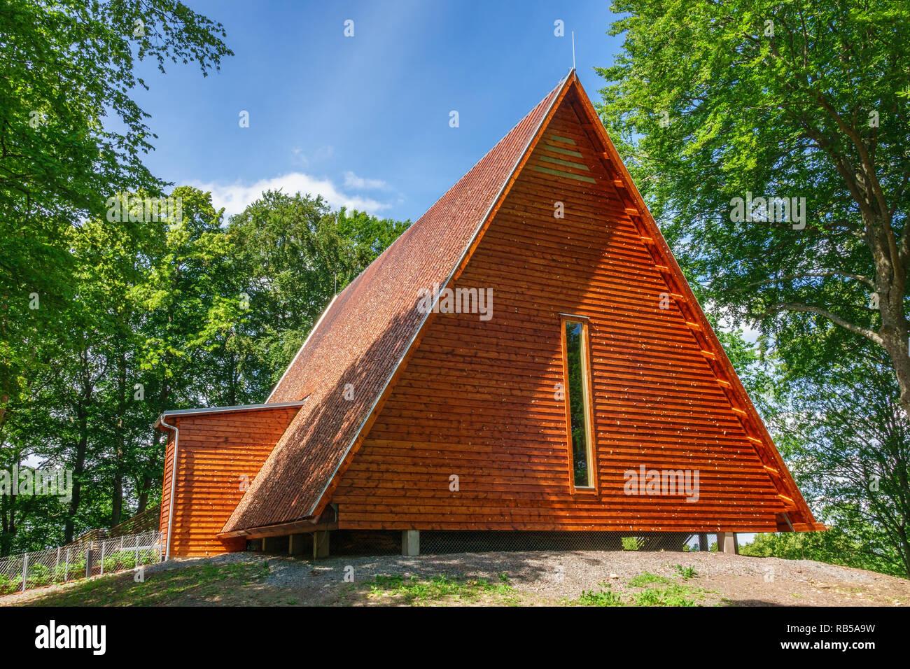 Kata farm museum building in Varnhem, Sweden - Stock Image