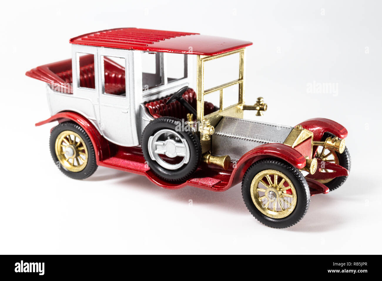 Matchbox Models of Yesteryear Y-7 Rolls-Royce 1912 - Stock Image