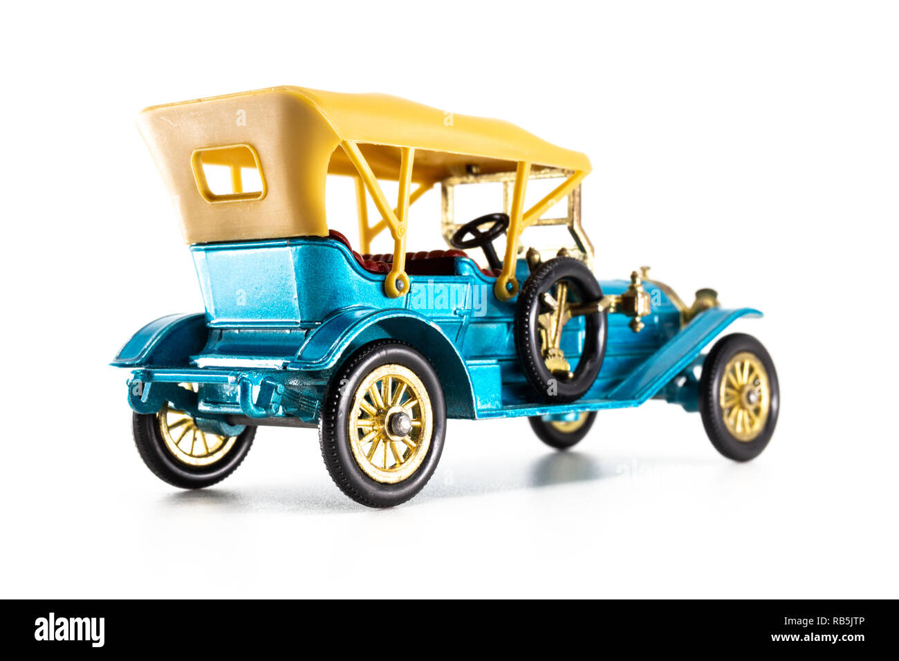 Matchbox Models of Yesteryear Y-12 Thomas Flyabout 1909 - Stock Image