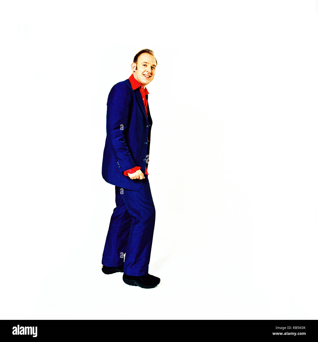 Tim Vine, English writer, actor, comedian and presenter, known for his one-liner jokes. - Stock Image