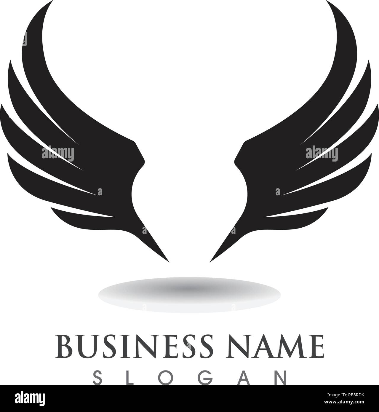 Get Graphic Eagle Wings Vector