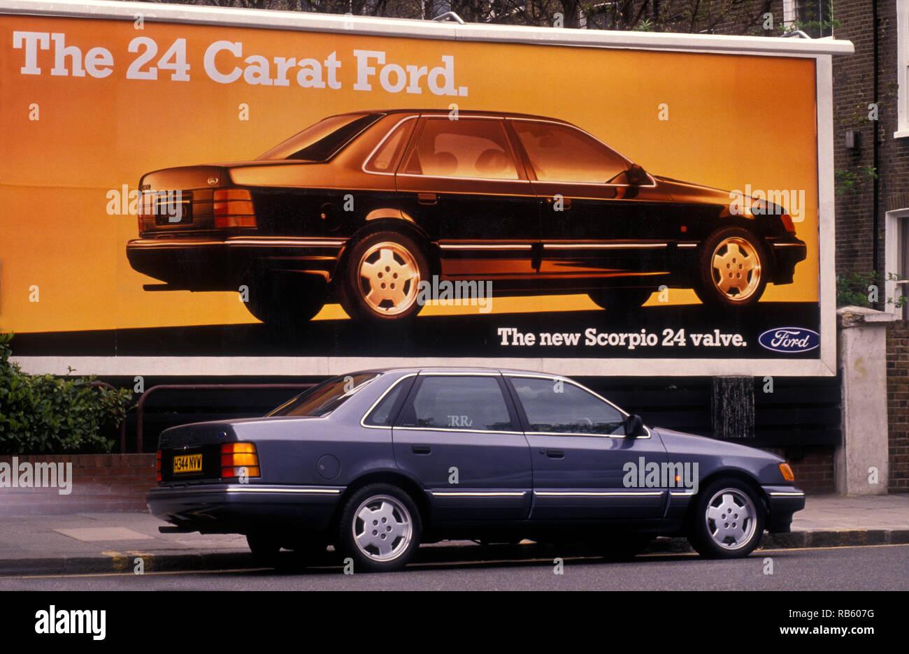 1990 Ford Scorpio 24v 1990 Stock Photo Alamy