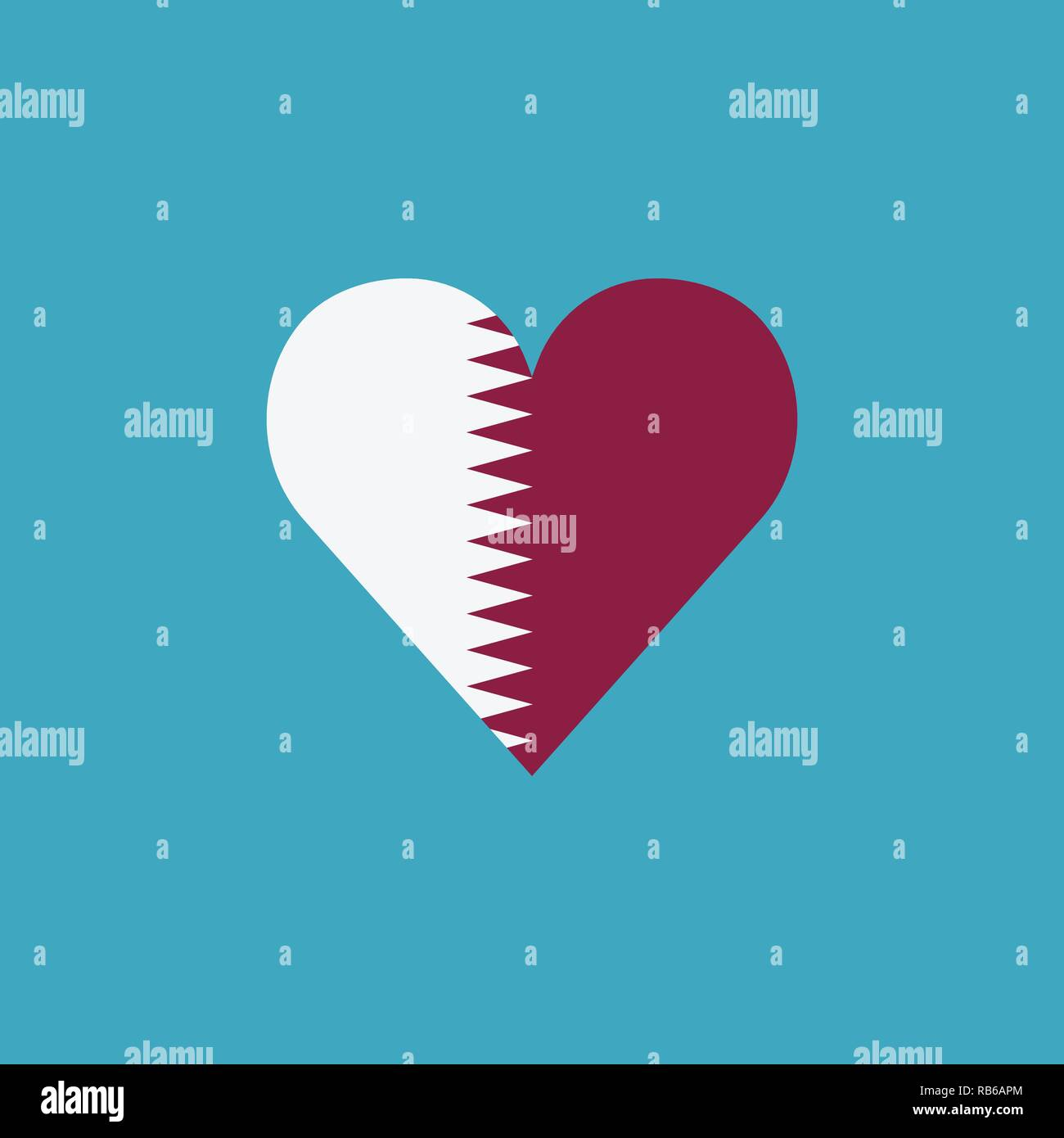 Qatar National Day Icon Vector Vectors Stock Photos & Qatar National