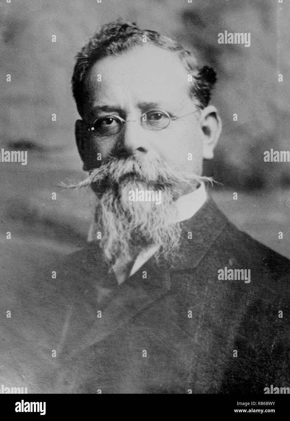 Venustiano Carranza de la Garza (1859-1920), a leader of the Mexican Revolution who became 37th President of Mexico in 1914. - Stock Image