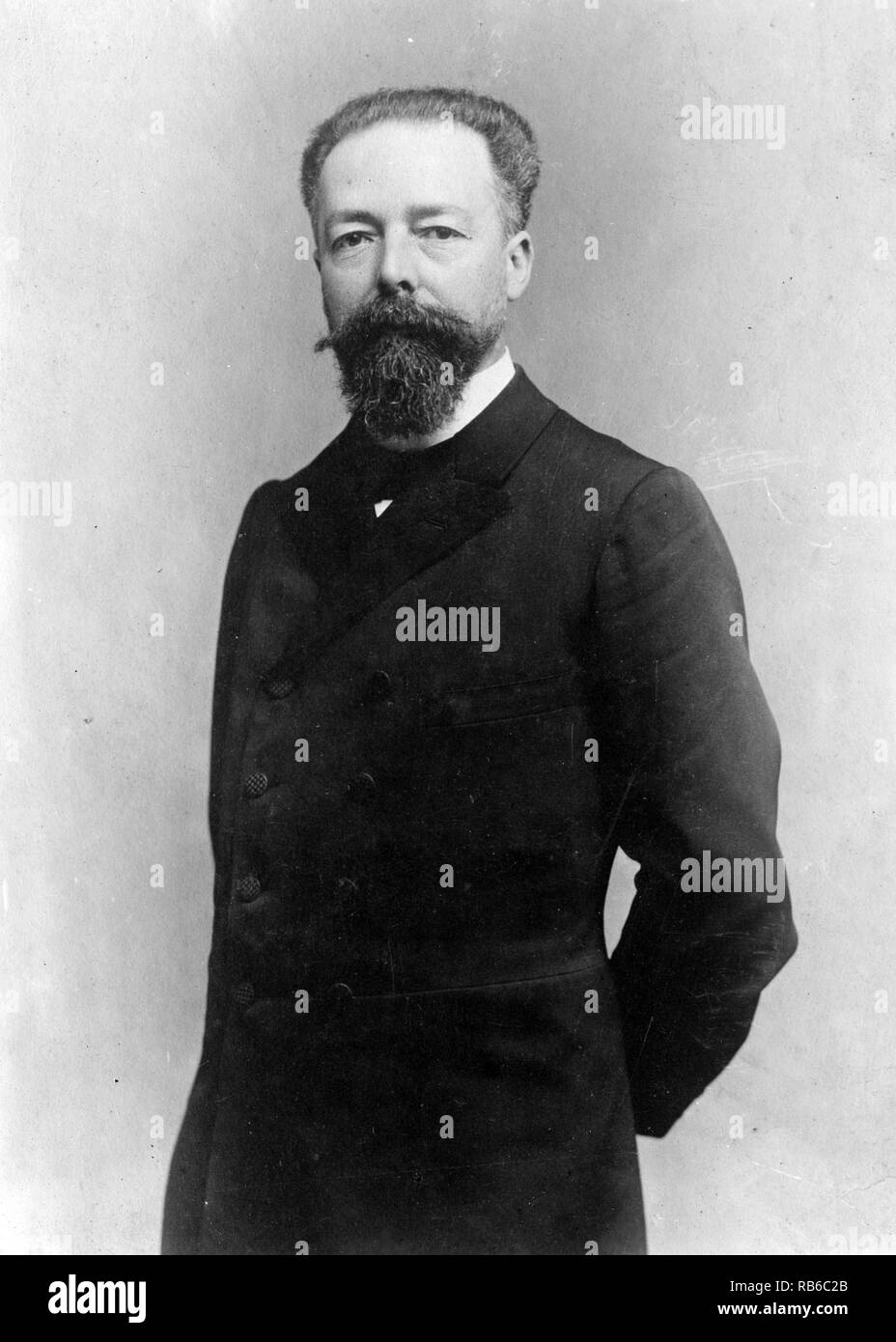 Paul Doumer, Joseph Athanase Gaston Paul Doumer, (1857 – 1932) President of France from 1931 until his assassination on 1932 - Stock Image