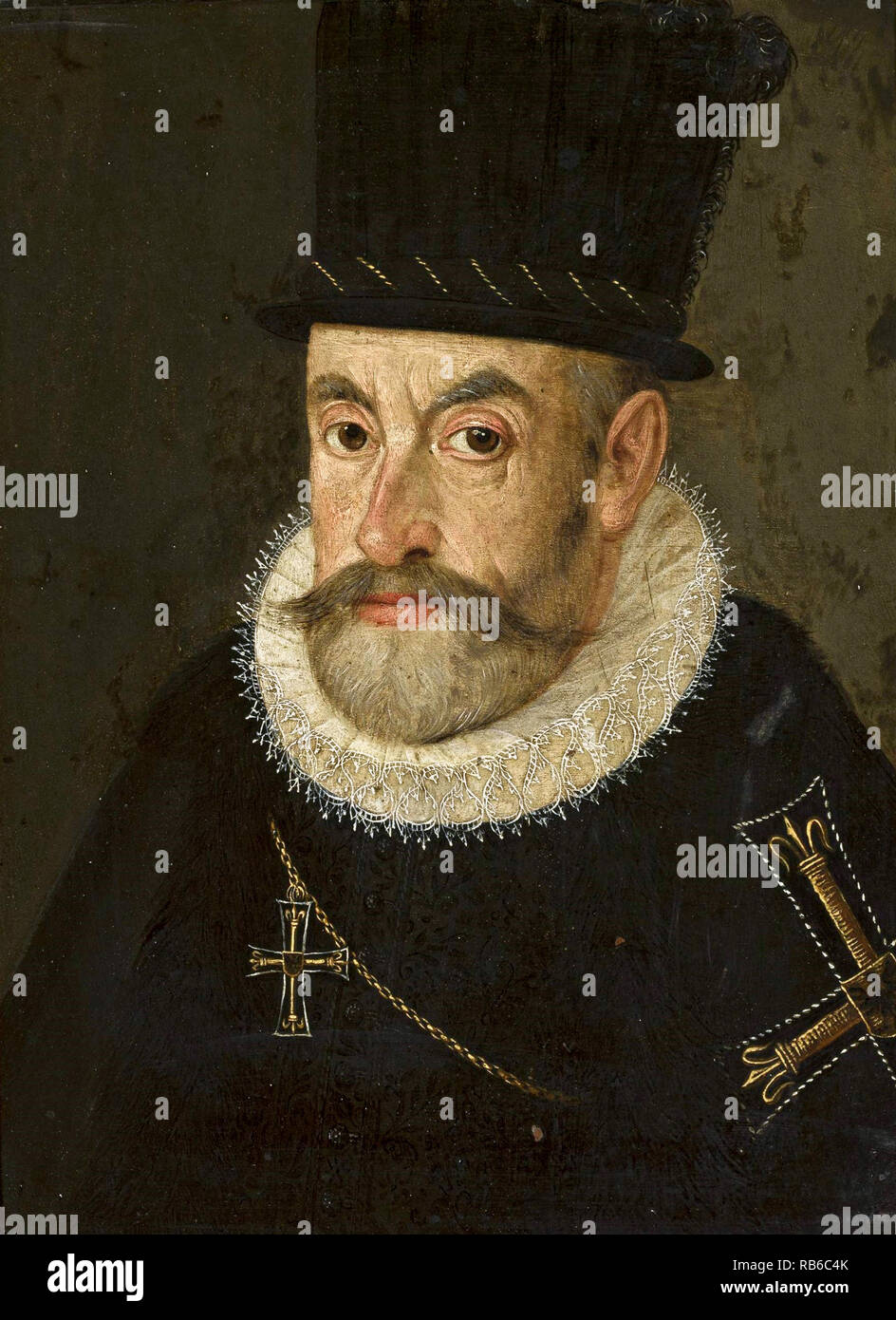 Maximilian III, Archduke of Austria Maximilian III of Austria, (1558 – 1618)  Archduke of Further Austria from 1612 until his death. - Stock Image