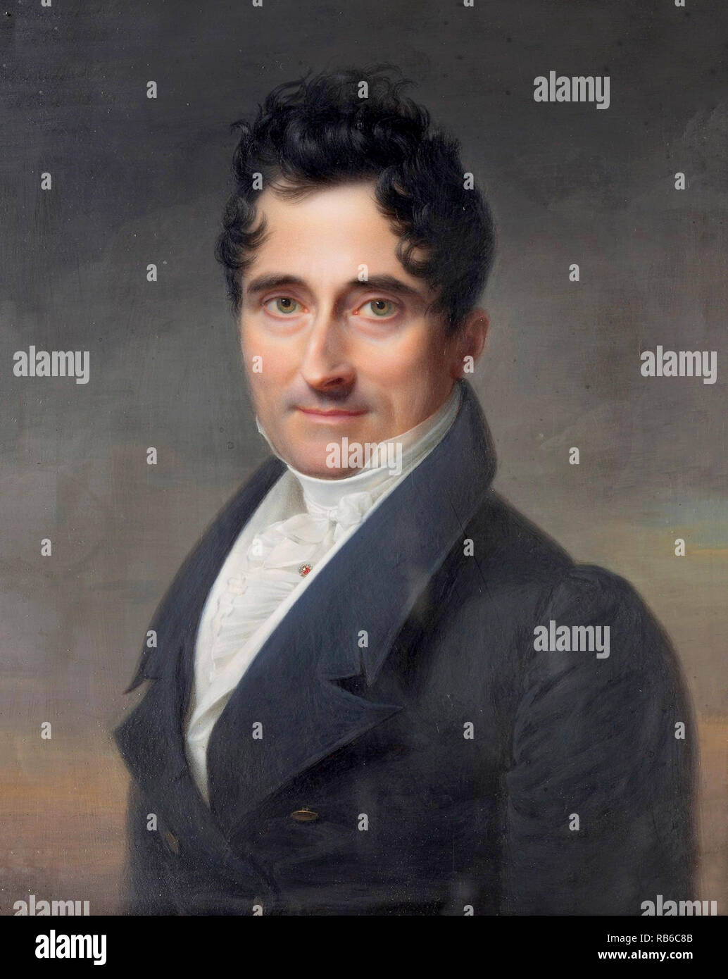 Joaquín María de Ferrer y Cafranga (1777 – 1861) Spanish politician and Prime Minister of Spain in 1841 - Stock Image