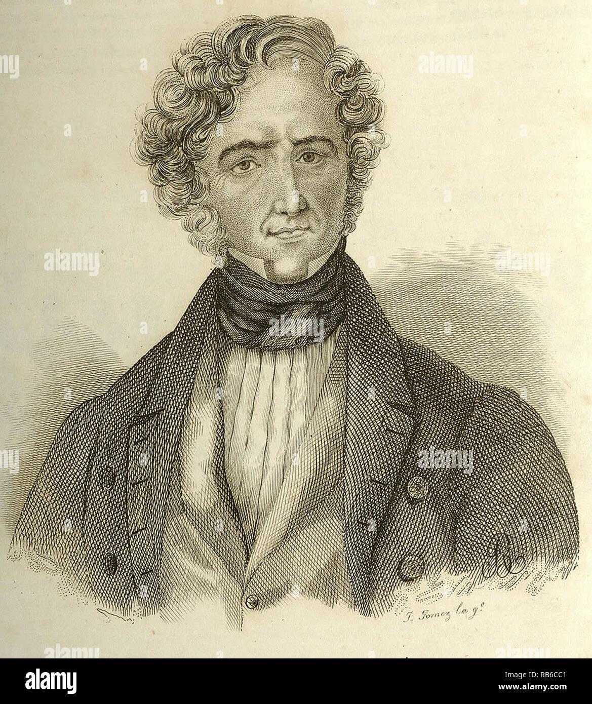 Juan Álvarez Mendizábal, Juan Álvarez Méndez (1790 – 1853), Spanish  politician and Prime Minister of Spain from 1835 to 1836. - Stock Image