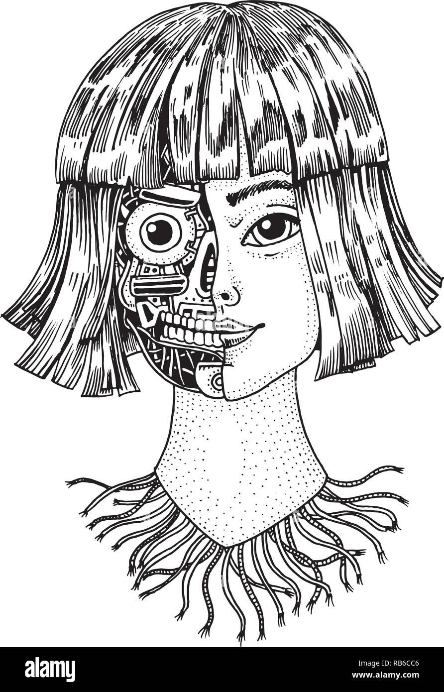 Half Human Half Robot ...