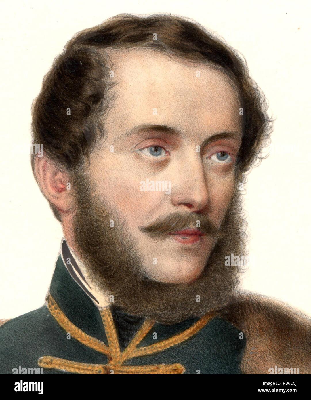 Lajos Kossuth de Udvard et Kossuthfalva (1802 – 1894) Hungarian nobleman, statesman and Governor-President of the Kingdom of Hungary during the revolution of 1848–49. - Stock Image