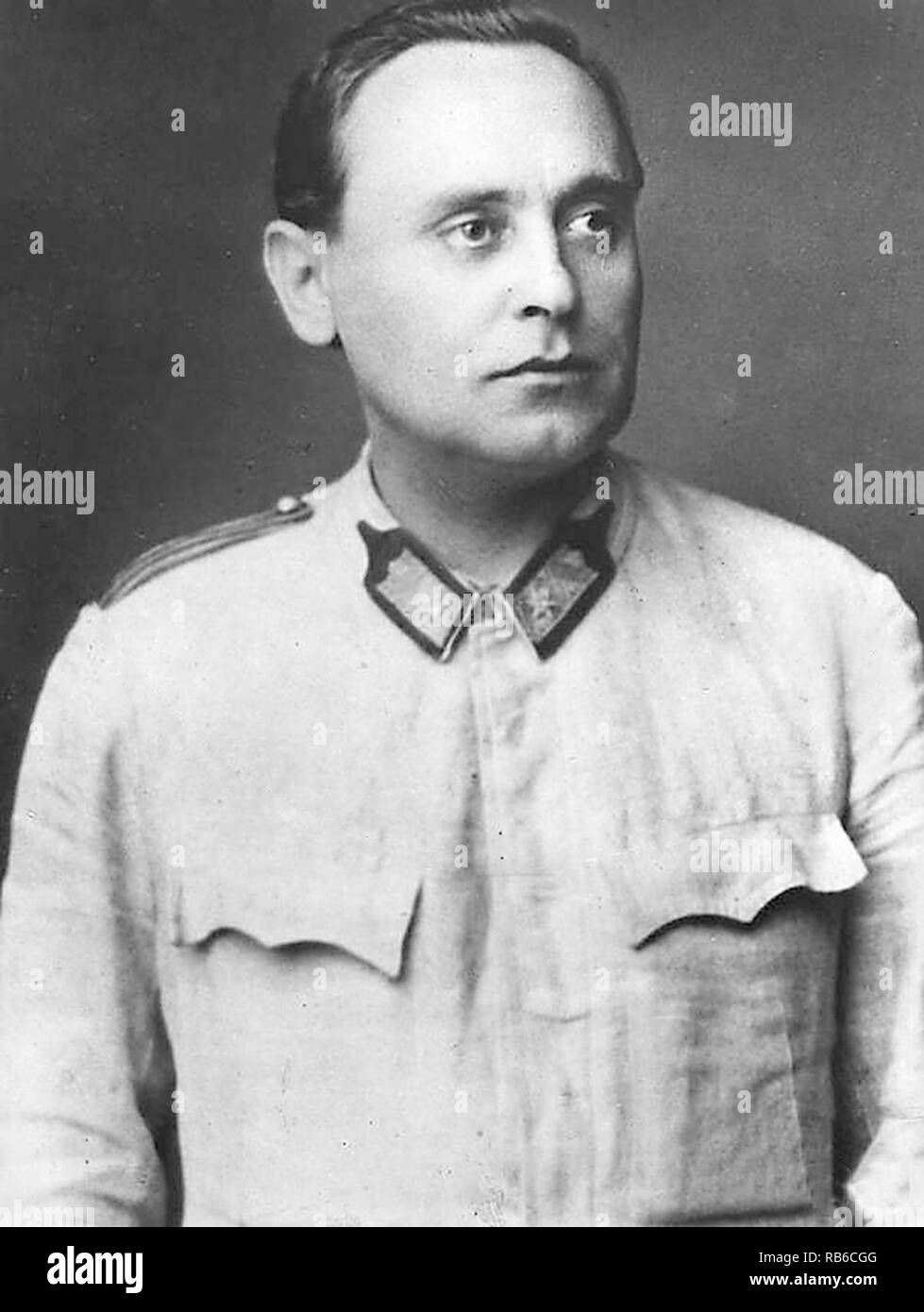 Ferenc Szálasi (1897 – 1946) Leader of the Nation (Head of State of Hungary) - Stock Image
