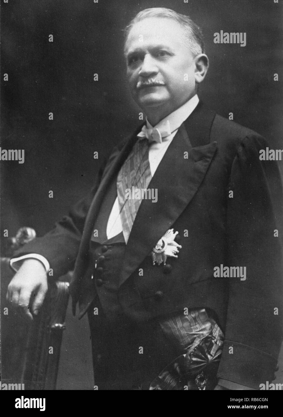 Gaston Doumergue, Pierre-Paul-Henri-Gaston Doumergue (1863 - 1937) French politician of the Third Republic. - Stock Image