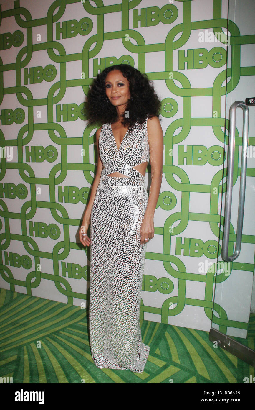 Thandie Newton  01/06/2019 The 76th Annual Golden Globe Awards HBO After Party held at the Circa 55 Restaurant at The Beverly Hilton in Beverly Hills, CA   Photo: Cronos/Hollywood News Stock Photo
