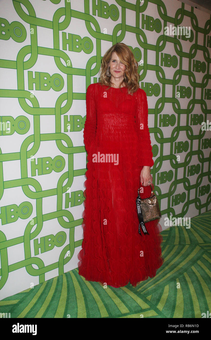Laura Dern  01/06/2019 The 76th Annual Golden Globe Awards HBO After Party held at the Circa 55 Restaurant at The Beverly Hilton in Beverly Hills, CA   Photo: Cronos/Hollywood News Stock Photo