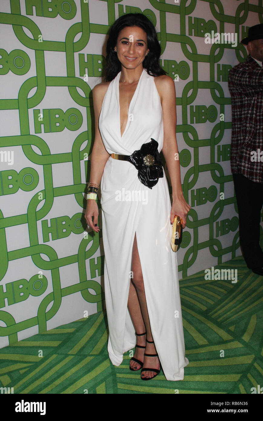 Emmanuelle Chriqui  01/06/2019 The 76th Annual Golden Globe Awards HBO After Party held at the Circa 55 Restaurant at The Beverly Hilton in Beverly Hills, CA   Photo: Cronos/Hollywood News Stock Photo
