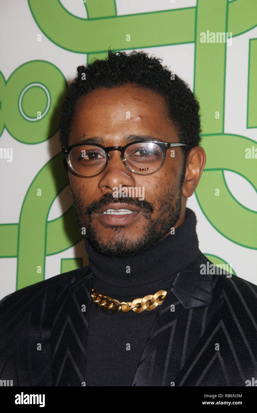 Lakeith Stanfield  01/06/2019 The 76th Annual Golden Globe Awards HBO After Party held at the Circa 55 Restaurant at The Beverly Hilton in Beverly Hills, CA  Photo: Cronos/Hollywood News Stock Photo