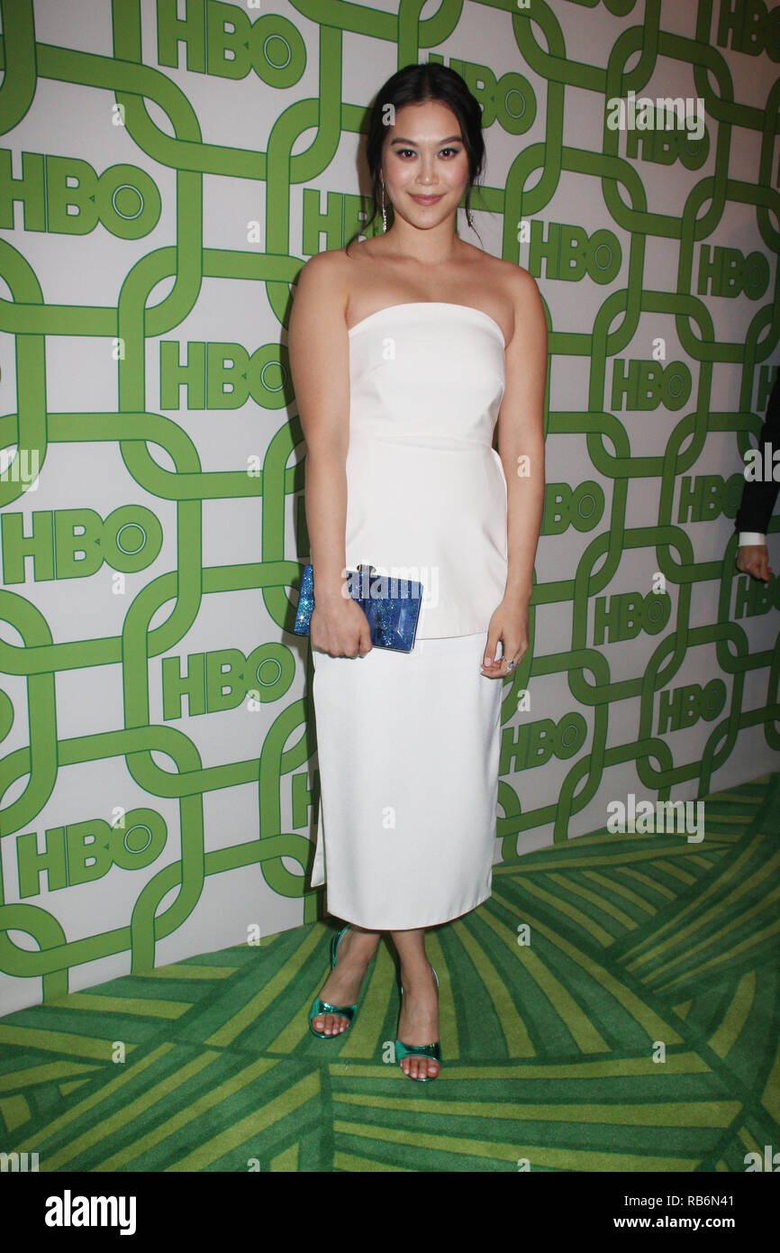 Dianne Doan  01/06/2019 The 76th Annual Golden Globe Awards HBO After Party held at the Circa 55 Restaurant at The Beverly Hilton in Beverly Hills, CA   Photo: Cronos/Hollywood News Stock Photo
