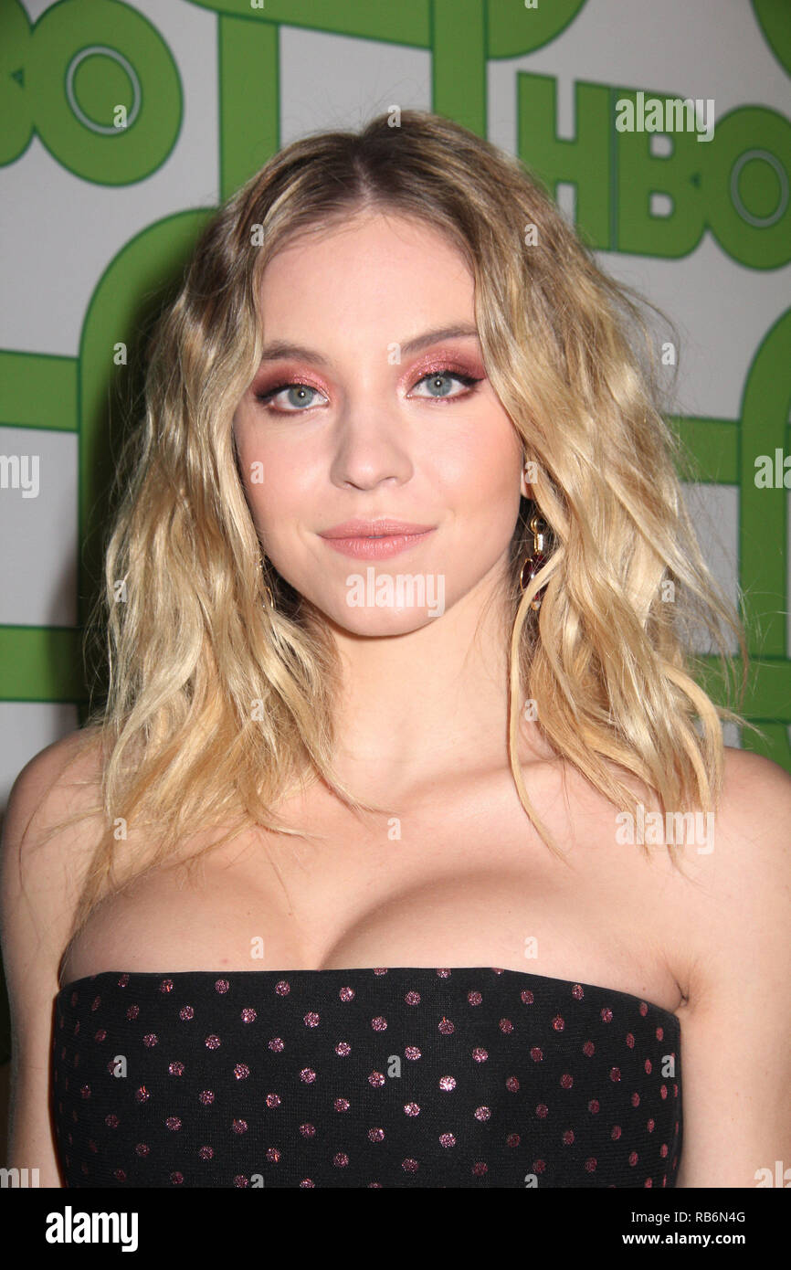 Sydney Sweeney  01/06/2019 The 76th Annual Golden Globe Awards HBO After Party held at the Circa 55 Restaurant at The Beverly Hilton in Beverly Hills, CA  Photo: Cronos/Hollywood News Stock Photo