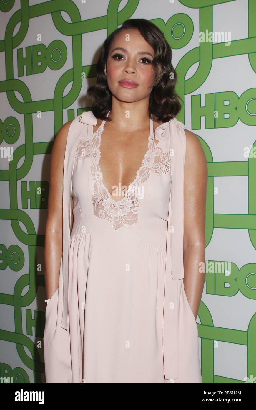 Carmen Ejogo  01/06/2019 The 76th Annual Golden Globe Awards HBO After Party held at the Circa 55 Restaurant at The Beverly Hilton in Beverly Hills, CA  Photo: Cronos/Hollywood News Stock Photo