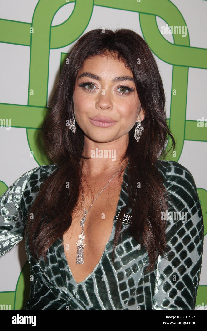 Sarah Hyland  01/06/2019 The 76th Annual Golden Globe Awards HBO After Party held at the Circa 55 Restaurant at The Beverly Hilton in Beverly Hills, CA  Photo: Cronos/Hollywood News Stock Photo