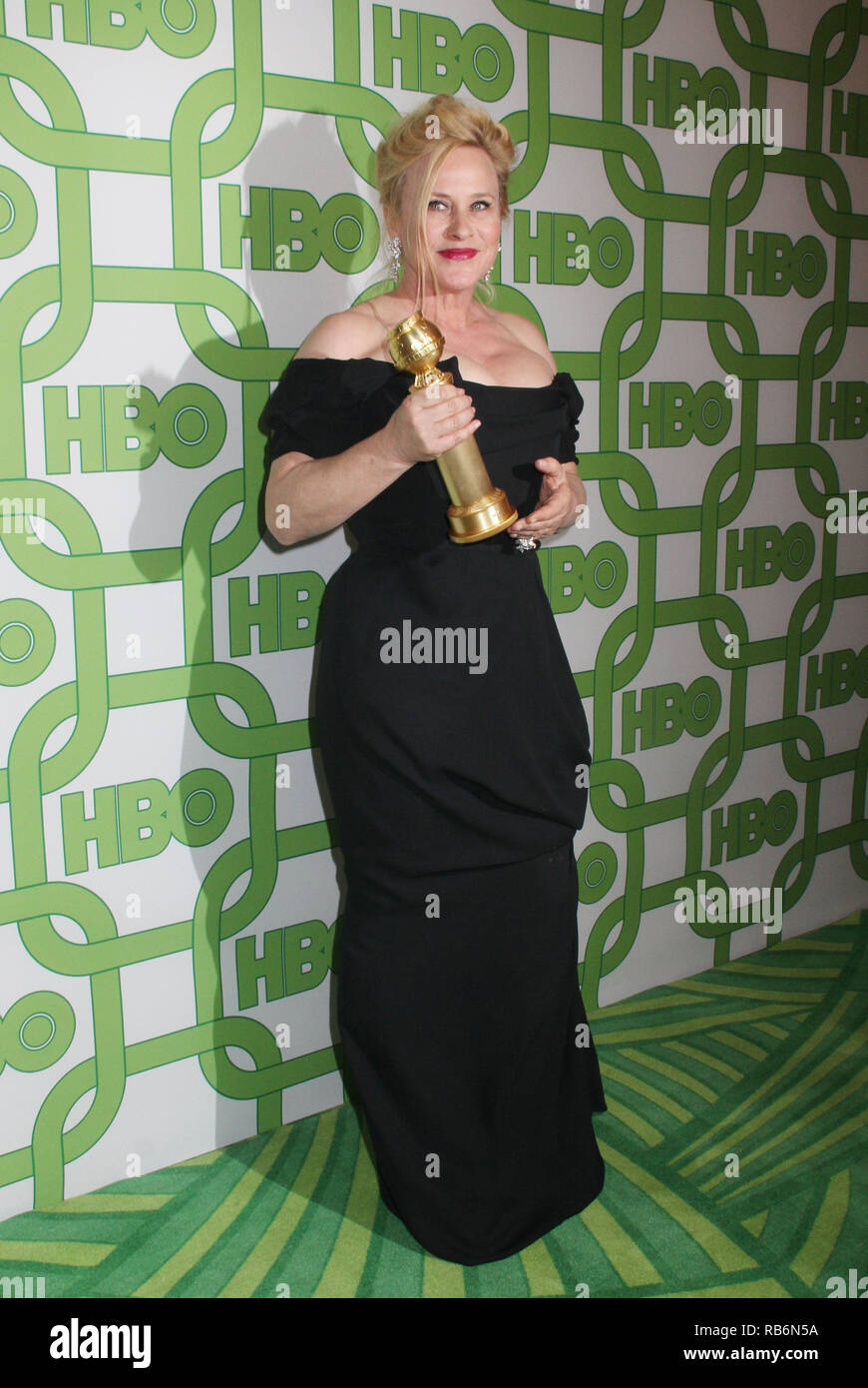 Patricia Arquette  01/06/2019 The 76th Annual Golden Globe Awards HBO After Party held at the Circa 55 Restaurant at The Beverly Hilton in Beverly Hills, CA  Photo: Cronos/Hollywood News Stock Photo