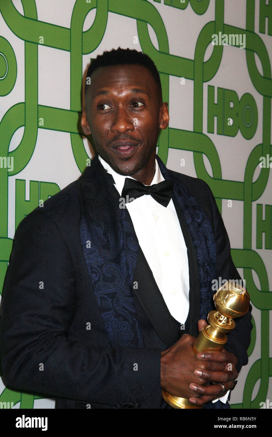 Mahershala Ali  01/06/2019 The 76th Annual Golden Globe Awards HBO After Party held at the Circa 55 Restaurant at The Beverly Hilton in Beverly Hills, CA   Photo: Cronos/Hollywood News Stock Photo