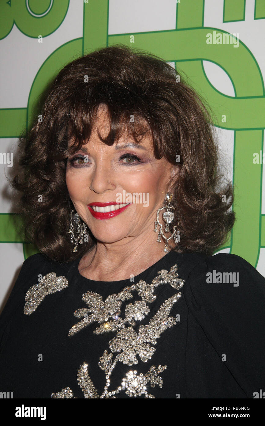 Joan Collins  01/06/2019 The 76th Annual Golden Globe Awards HBO After Party held at the Circa 55 Restaurant at The Beverly Hilton in Beverly Hills, CA  Photo: Cronos/Hollywood News Stock Photo