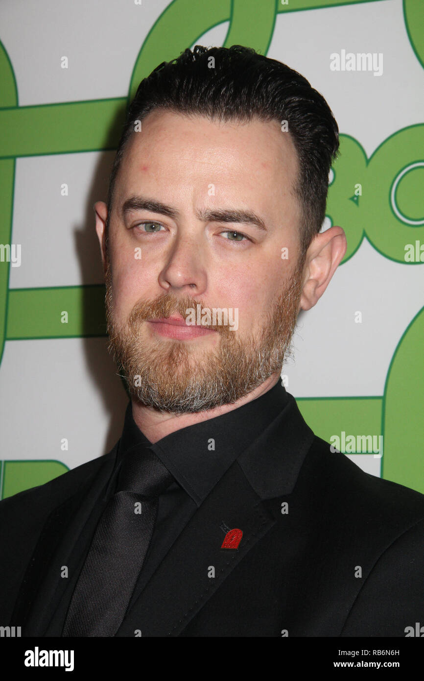 Colin Hunks  01/06/2019 The 76th Annual Golden Globe Awards HBO After Party held at the Circa 55 Restaurant at The Beverly Hilton in Beverly Hills, CA  Photo: Cronos/Hollywood News Stock Photo
