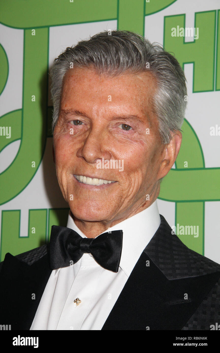 Michael Buffer  01/06/2019 The 76th Annual Golden Globe Awards HBO After Party held at the Circa 55 Restaurant at The Beverly Hilton in Beverly Hills, CA  Photo: Cronos/Hollywood News Stock Photo