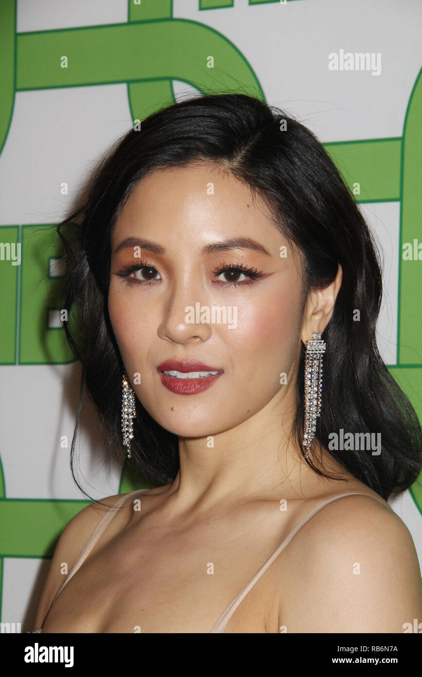 Constance Wu  01/06/2019 The 76th Annual Golden Globe Awards HBO After Party held at the Circa 55 Restaurant at The Beverly Hilton in Beverly Hills, CA  Photo: Cronos/Hollywood News Stock Photo