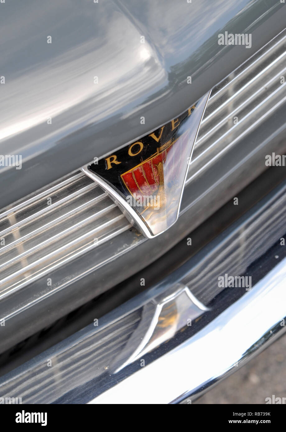 1963 Rover 2000, very early Rover P6 car - Stock Image