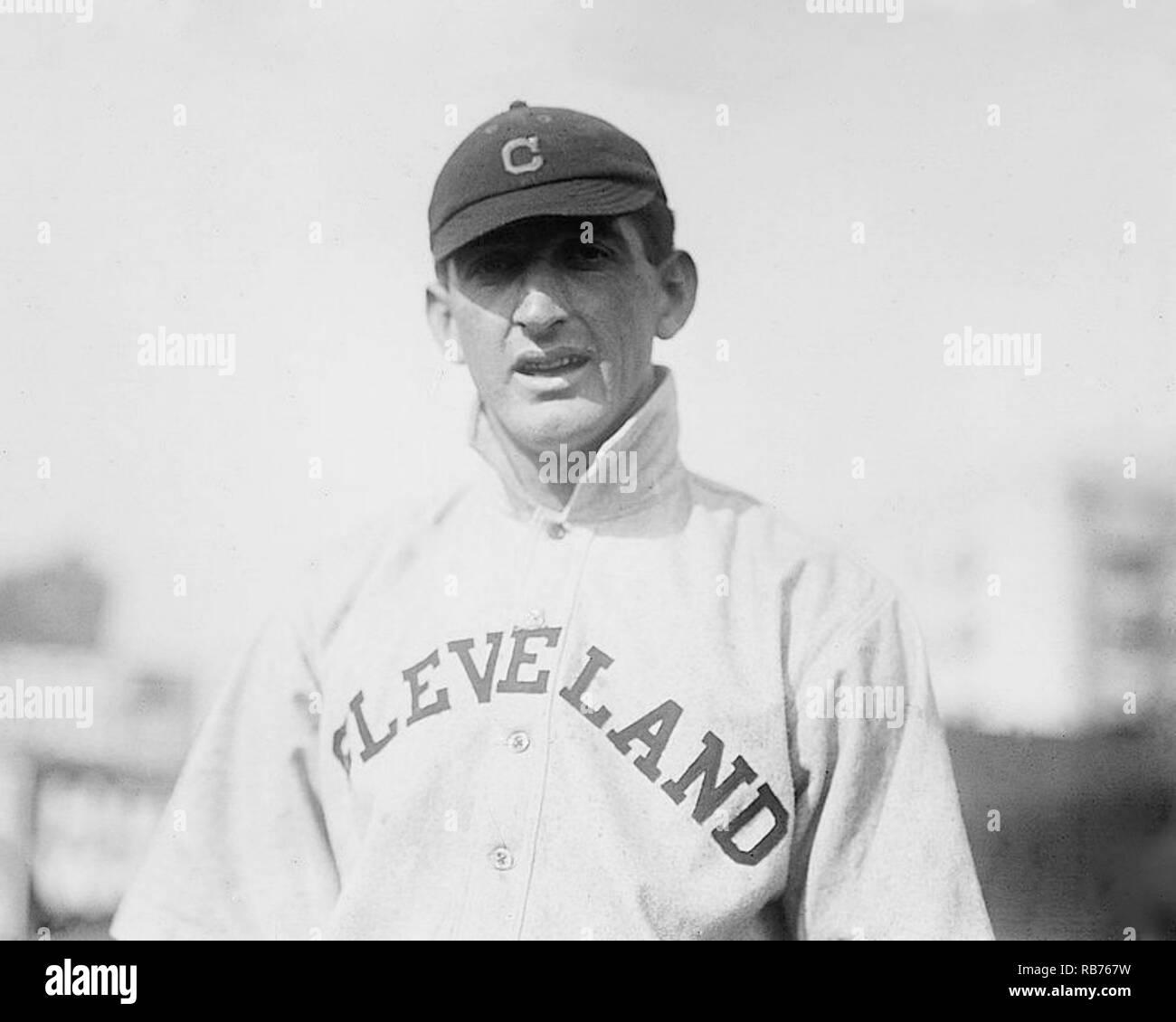 Joe Jackson, Cleveland Naps 1911. - Stock Image