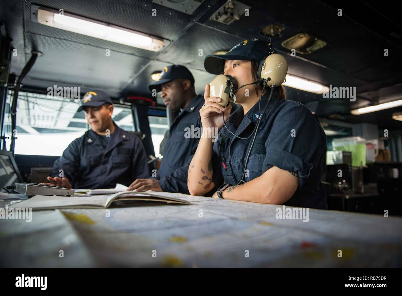 SAN DIEGO (Dec  15, 2016) Petty Officer 3rd Class Kimberley