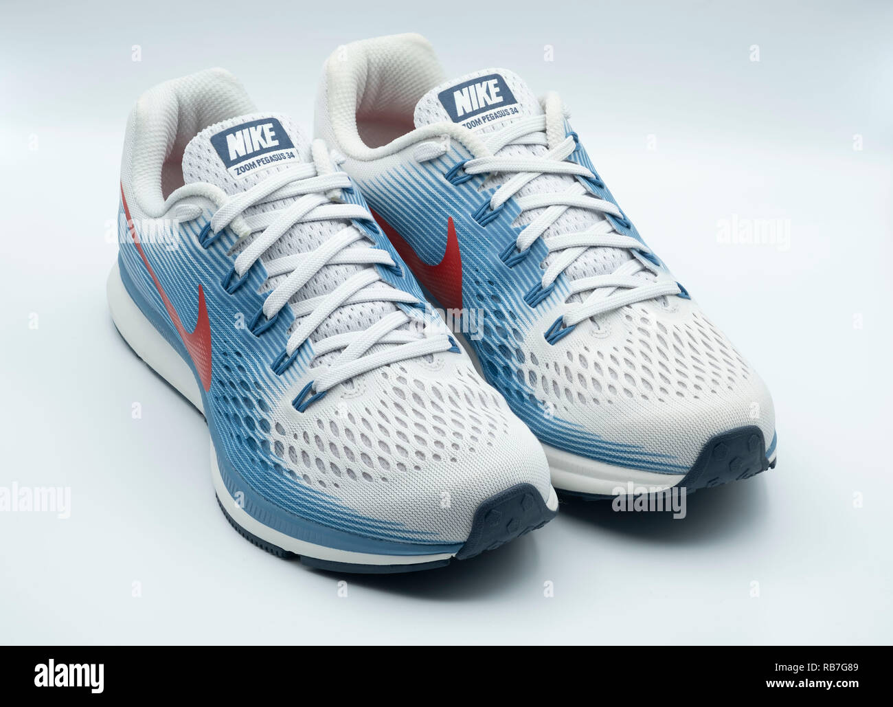 d1ce26e0924ce Running Shoes Sneakers Nike Stock Photos   Running Shoes Sneakers ...